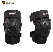 SULAITE Motorcycle Knee Pads Motorbike Ridng Knee Protectors Moto Racing ATV Knee Protective Guards Gears Equipment