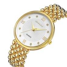 CRRJU High luxurious Costume Model Vogue Watch Girl Girls Gold Diamond relogio feminino Costume Clock feminine relojes mujer 2017 New