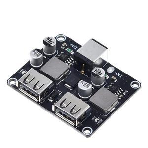 Image 5 - USB QC3.0 QC2.0 USB DC DC понижающий преобразователь зарядный понижающий модуль 6 32 в 9 в 12 В 24 В для быстрой зарядки печатная плата 5 В