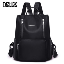 DIZHIGE Brand Luxury Waterproof Oxford Women Anti-theft Backpack High Quality School Bag For Multi-pocket Female Bags New