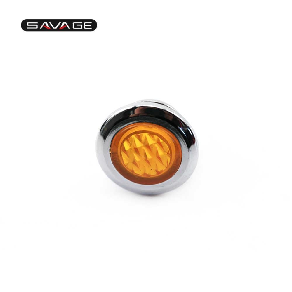 Cubierta de lente de luz piloto de haz alto para HONDA VT750C sombra VT750D T1100 CB1000 CMX250C Rebel CA125 GL1500