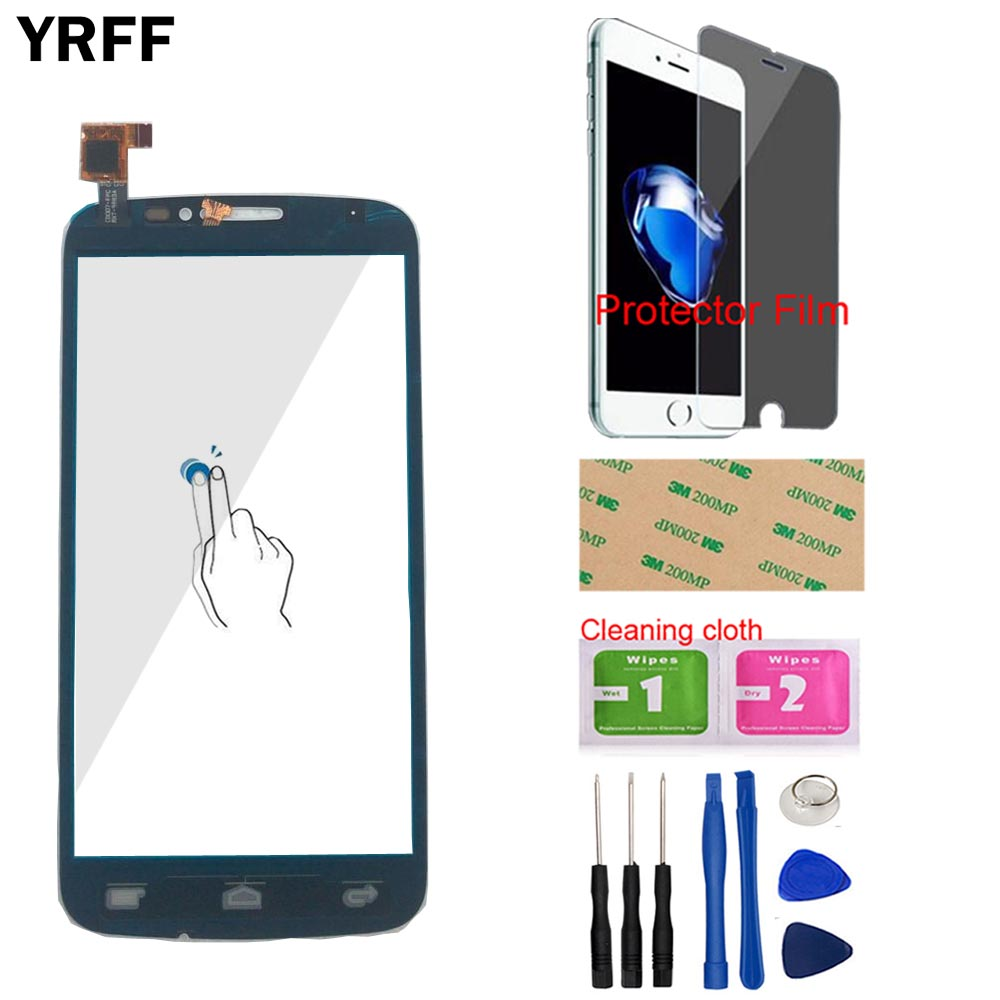 Image 4 - Touch Screen Panel For Alcatel One Touch Pop C7 7041 OT 7041D 7041X OT7040D 7040E 7041D Touch Screen Digitizer Protector Film-in Mobile Phone Touch Panel from Cellphones & Telecommunications