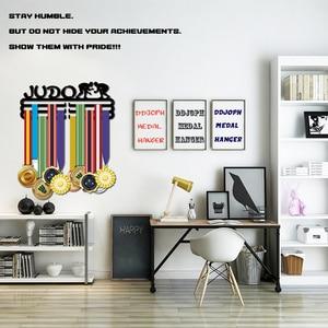 Image 1 - DDJOPH 柔道メダルハンガーホルダースポーツメダルディスプレイハンガーホルダー保持 30 + メダル