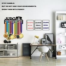 DDJOPH JUDO madalya askı tutucu Spor madalya ekran askı tutucu tutun 30 + madalya
