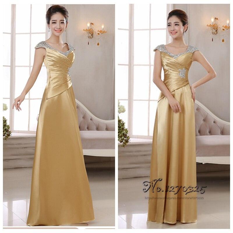 And Gold Bridesmaid Dress