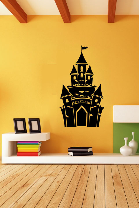 Enchanting Princess Castle Wall Decoration Gallery - All About ...