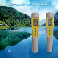 Digital PH Meter Pen Soil Acidity Meter TSD Water Quality Detector High Temperature Work Waterproof Water