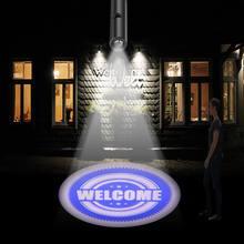 Luminária led para projeção de led para arte, feliz natal, 110v 220v, e27, hotel, filmes, design personalizado, dropshipping