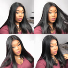 360 Lace Frontal Wig Peruvian Straight 13x6 Lace Front Human Hair Wigs 26 Inches 360 Lace Wig Remy Human Hair Wigs For Women