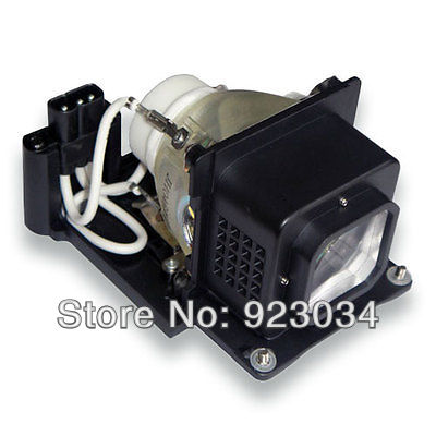 RLC-019 Projector lamp with housing for VIEWSONIC pj678 180Days Warranty plus size button detail two tone top