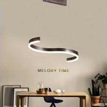 ФОТО chandelier lighting modern with remote control for kitchen dining room acrylic lampshade lustre para sala hanging lamp avizeler