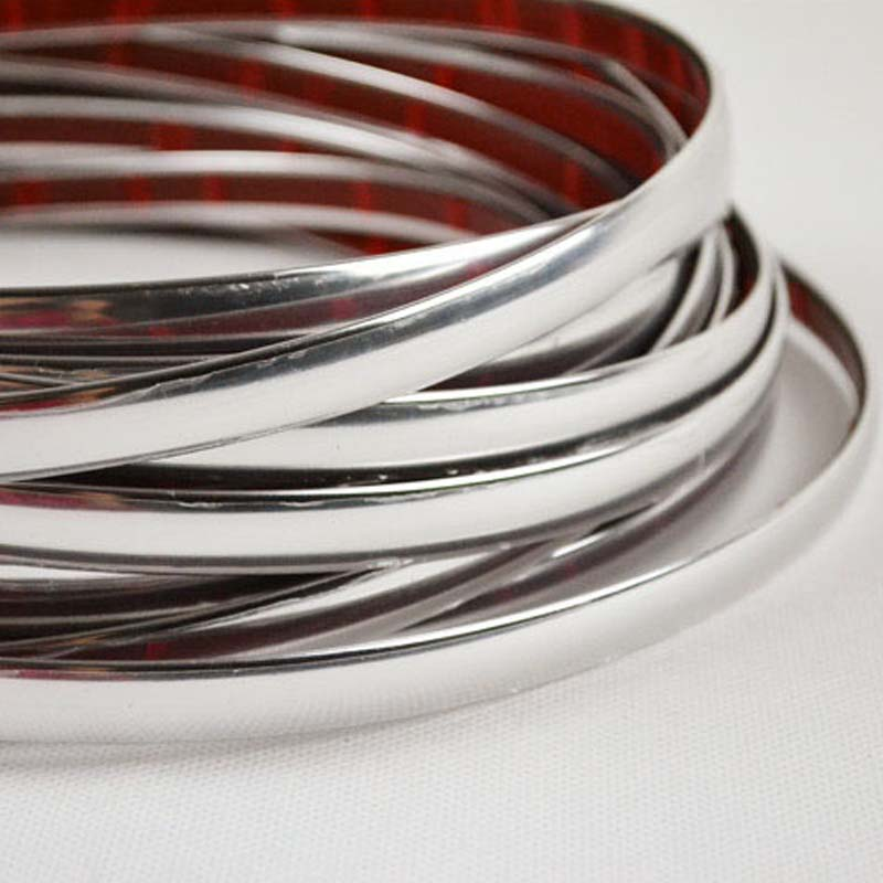 13M Silver Car Chrome Styling Dekoration Gjutning Trim Strip Tape - Reservdelar och bildelar - Foto 4