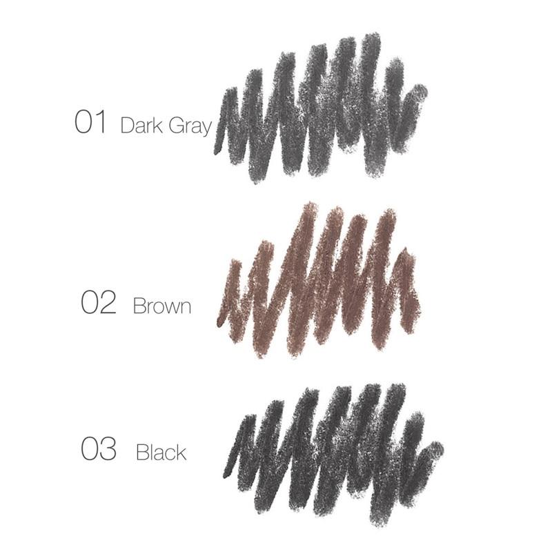 FOCALLURE Eyebrow Pencil 3 colores suave y liso automático - Maquillaje - foto 4