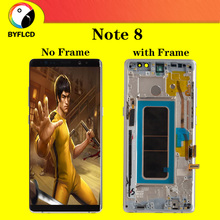 Ban đầu AMOLED Màn Hình Hiển Thị Màn Hình LCD Dành Cho Dành Cho Samsung Note 8 N9500 N950U N950FD Màn Hình Cho Galaxy Note 8 Màn Hình Hiển Thị Màn Hình LCD Với Đốt Cháy bóng màn hình