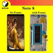 Orijinal Amoled Ekran samsung Lcd Not 8 N9500 N950U N950FD Ekran Galaxy Not 8 Ekran Lcd Yanma Ile Gölge ekran