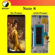 Pantalla Lcd Amoled Original para Samsung Note 8 N9500 N950U N950FD pantalla para Galaxy Note 8 pantalla Lcd con pantalla de sombra de quemadura