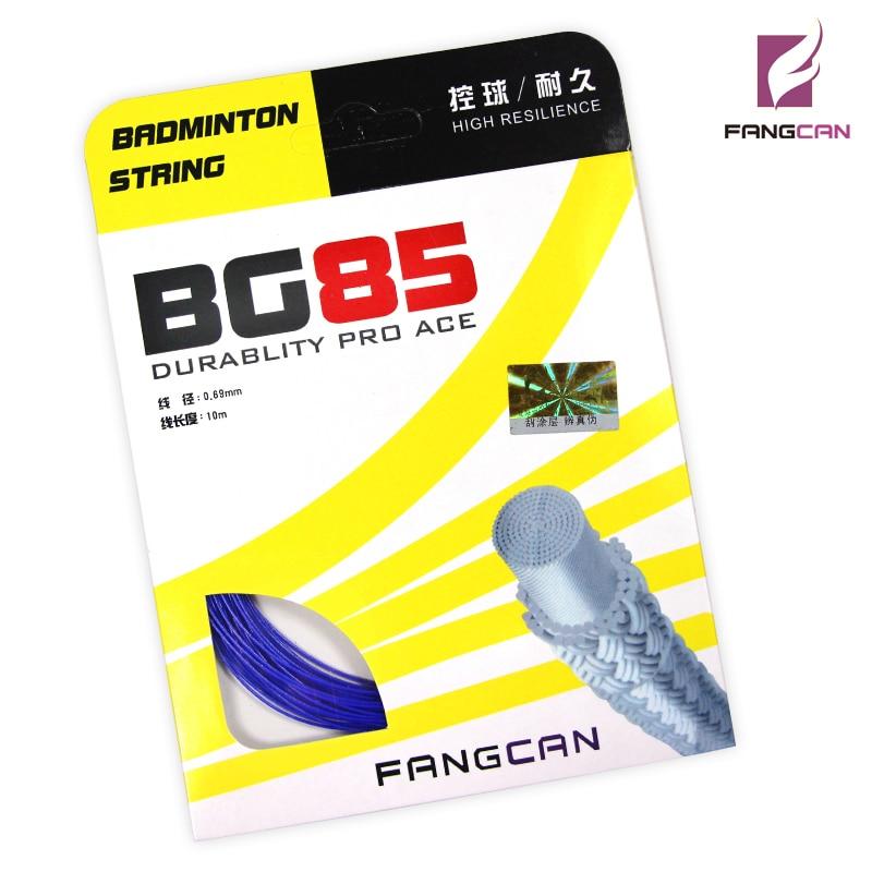 1 FANGCAN BG85 0.69mm קוטר בדמינטון מחרוזת עבור מחבט בדמינטון 10m / pc