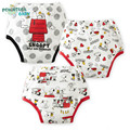 3Pcs/lot Baby Reusable Washable Baby Training Pants Waterproof Potty Panties Reusable Underpants Cotton Diapers Trousers