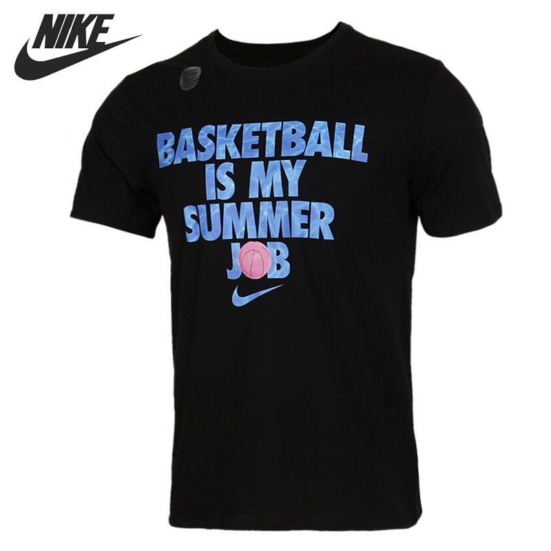 Original New Arrival 2018 NIKE DRY TEE SUMMER JOB Men's T-shirts short sleeve Sportswear original new arrival 2017 nike as m nk dry tee db st bm 1 men s t shirts short sleeve sportswear