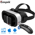 VR PARK V5 5.0 Virtual Reality 3D Glasses 90 Degrees FOV IPD Focal Lens Adjustment for 4 - 6 inch Mobile Phone with Mocute 050