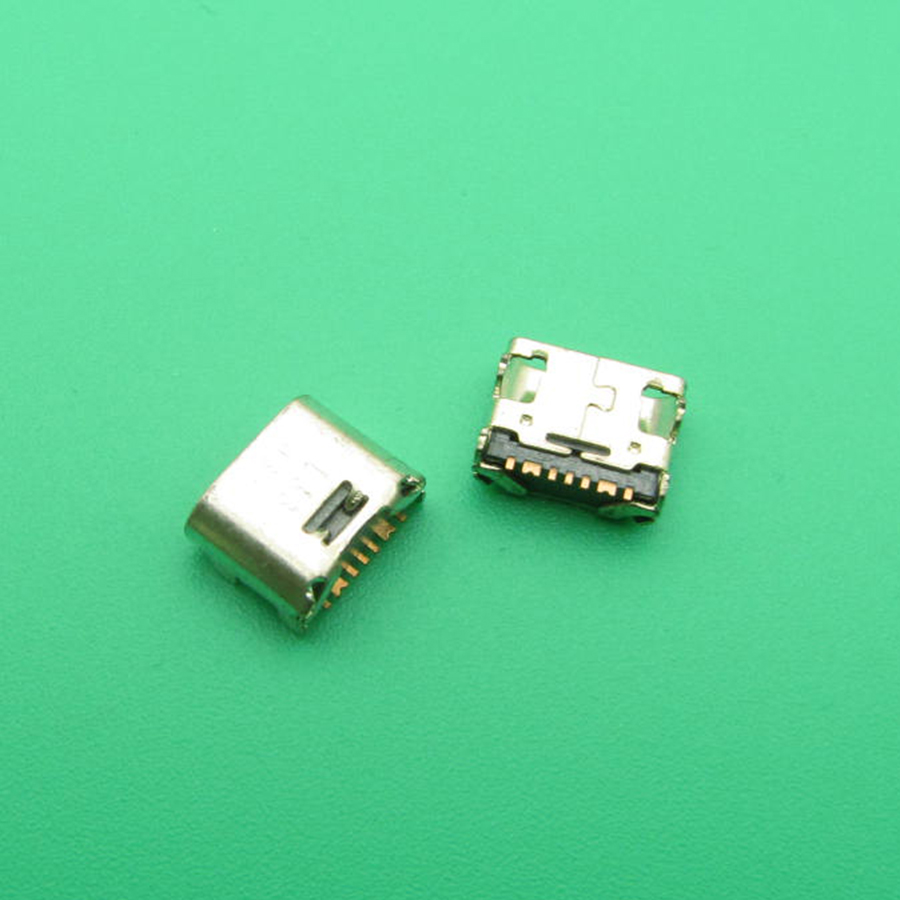 50pcs/lot Micro Mini USB Jack Socket Connector Charger Charging Port For Samsung Galaxy Core Prime G360 G361F Tab E T560 T561