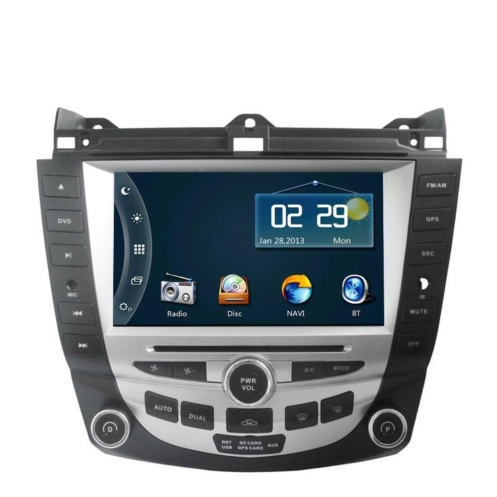 8 hd car dvd player gps navigation system for honda. Black Bedroom Furniture Sets. Home Design Ideas