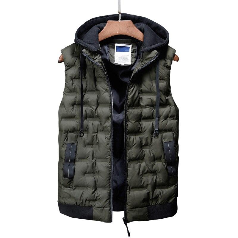 fashion men\`s clothing korean men down jacket coats winter warm vests designer male casual suits dress boys canada vest for men (1)