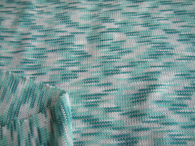 60 wide tr slub hacci sweater jersey knit fabric space for Space dye knit fabric by the yard