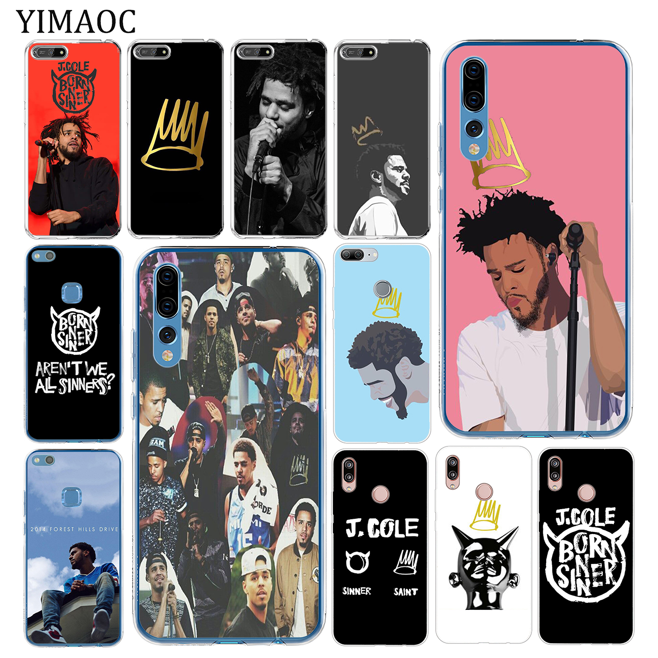 j cole sinner and saint iphone case