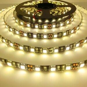 Image 5 - LED Strip 5050 Black PCB DC12V Flexible LED Light 60 LED/m 5m/lot RGB 5050 LED Strip.5m/lot