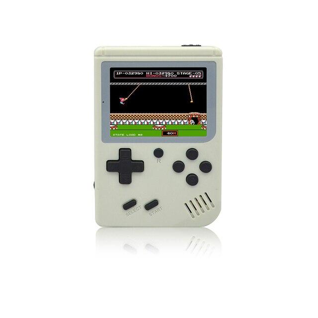 Children Retro Mini Portable Handheld Game Console Players 3.0 Inch Black 8 Bit Classic Video Handheld Game Console RETRO-FC  07 3
