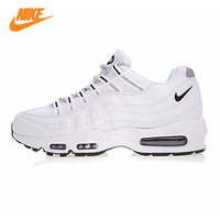 Nike Air Max 95 Men's Running Shoes, Outdoor Sneakers Shoes,White, Breathable Wear resistant Shock Absorption 609048 109