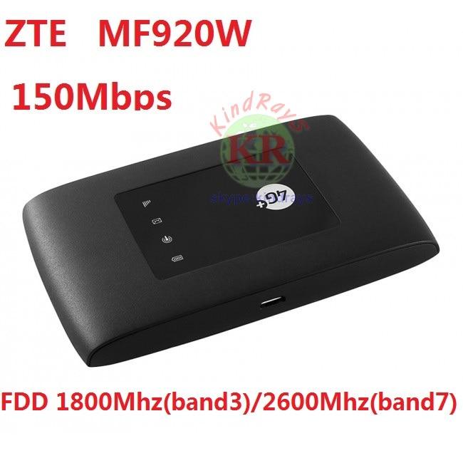 Unlocked ZTE MF920 MF920W 4G Band 3/7 LTE router 4g hotspot PK MF920a E5573