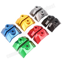 Motorcycle Accessories CNC Rear Fork Spindle Chain Adjuster Blocks For Kawasaki Z800 2012 2013 2014 2015