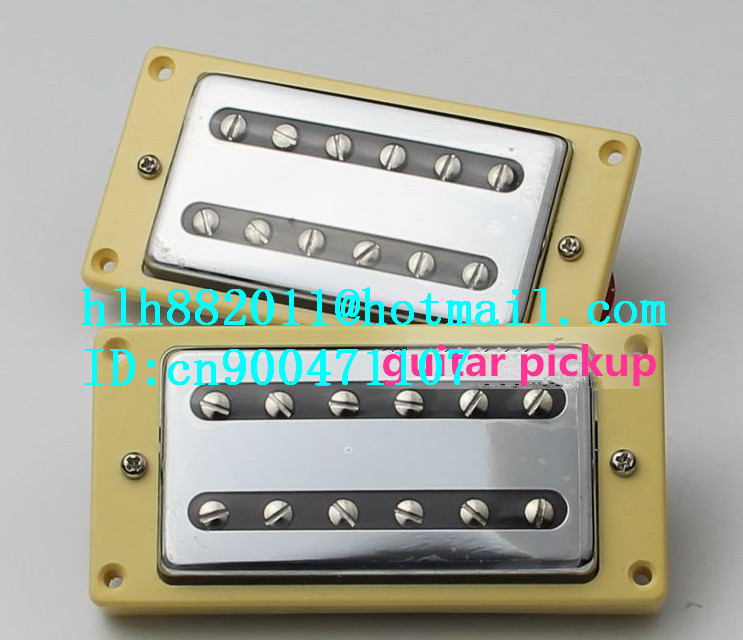 free shipping new electric  guitar semi-closed pickup in chrome made in South Korea  HY-07 2pcs chrome guitar pickup lipstick tube pickup single coil