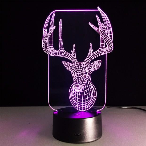 Deer Bedroom Lampe 5