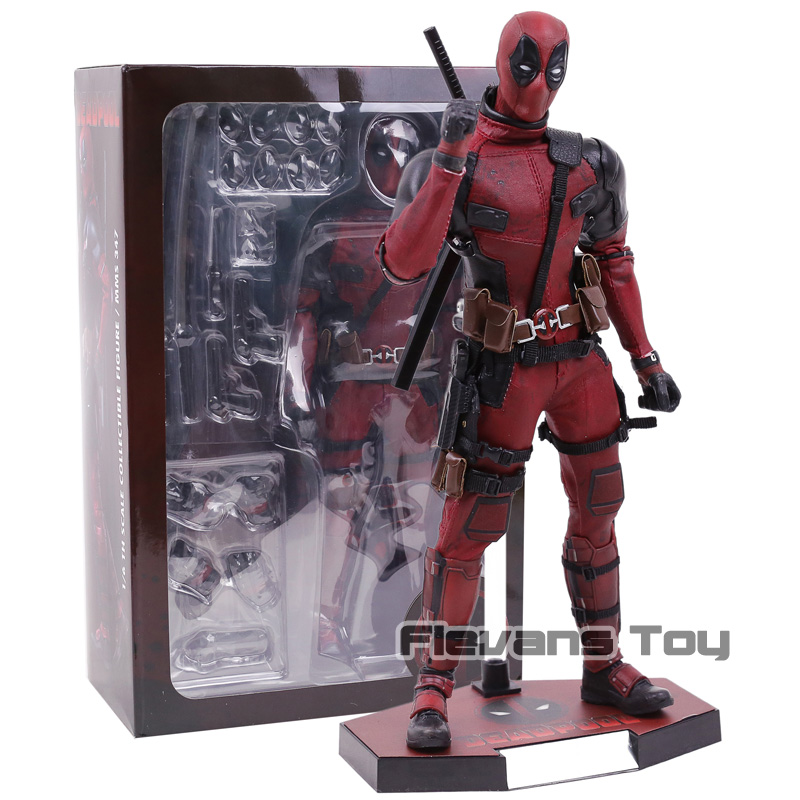Hot Toys MMS 347 Deadpool Ryan Reynolds Wade Wilson 12 inch Action Figure Collectible Model ToyHot Toys MMS 347 Deadpool Ryan Reynolds Wade Wilson 12 inch Action Figure Collectible Model Toy