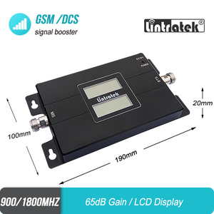 Image 5 - Lintratek Signal booster 2G 900 3G 1800 Cellular Signal Booster GSM DCS 1800MHz Repeater UMTS Amplifier 3G Antenna 10m Kit #40