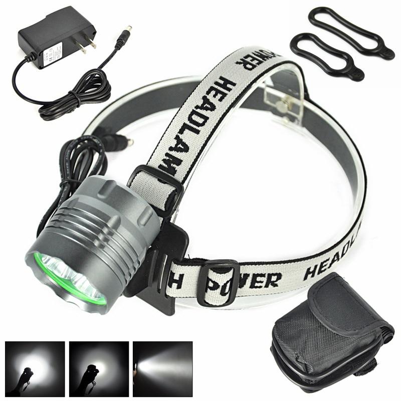 <font><b>10000</b></font> Lumen 5x XM-L T6 LED Bike Bicicleta Headlight Front Headlamp Rechargeable Flashlight Bicycle <font><b>Light</b></font>+Battery/ EU/US Charger