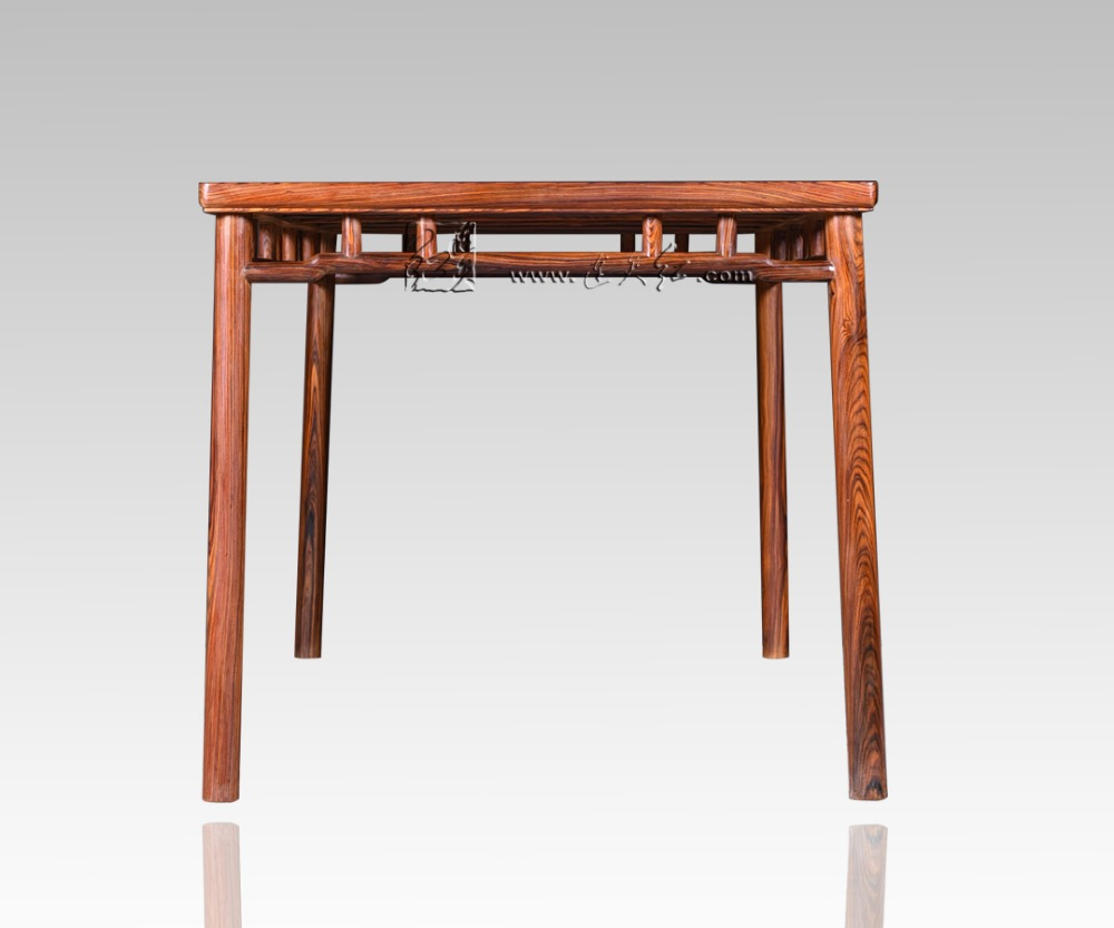 Rectangle Table Chinese Neoclassical Dining Desk Rosewood Home ...