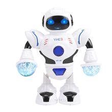 LeadingStar Smart Space Dance Robot Electronic Toy with Music Light for Kids Ast