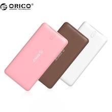 ORICO Power Bank 2500-20000 мАч Scharge Полимер Power Bank Портативный внешний аккумулятор Micro USB Для Мобильного Телефона