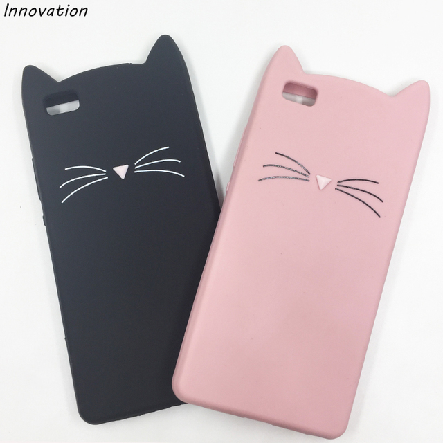 new concept 23194 e3f0a US $1.99 20% OFF|Innovation For iphone6 Back Cover Lovely Glitter Cartoon  Cute Kitty Cat 3D Silicon Phone Case For iPhone 6 6s High Quality Cases-in  ...