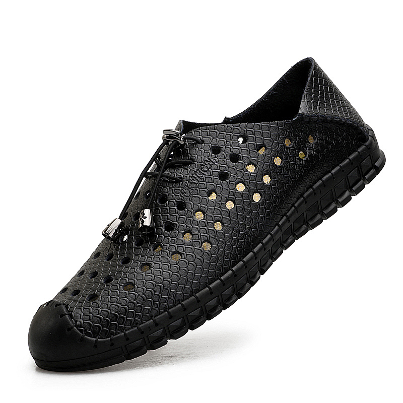 AKZ Man Casual shoes 2018 New Style Summer loafers Air mesh Bernapas - Sepatu Pria - Foto 4