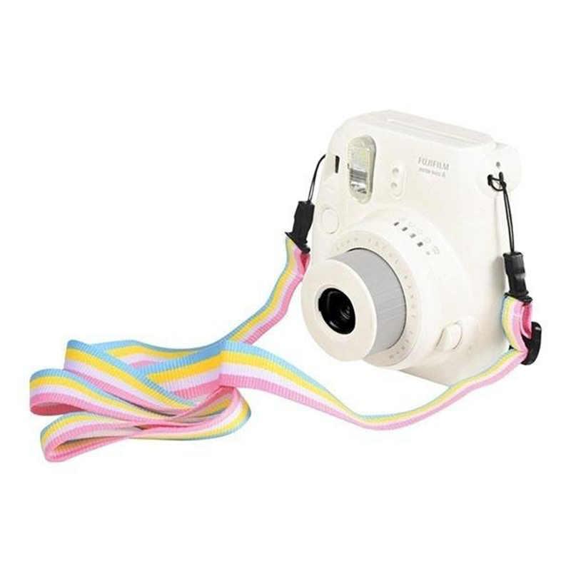 Camera 90cm Da Cổ Dây Đeo Vai Dây Ban Nhạc cho Polaroid Fujifilm Fuji Film Instax Mini 90 70 50 25 7S 9 8 Ngay In