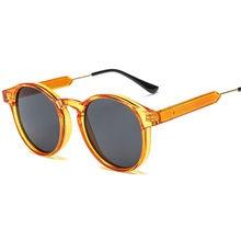 8c195a88d NYWOOH Retro Rodada óculos de Sol Das Mulheres Dos Homens para Marca de  Luxo Designer de Óculos de Sol Do Círculo Do Vintage Sha.