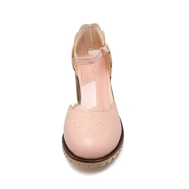 KarinLuna nieuwe nieuwe collectie zomer sweet school vrouwen sandalen - Damesschoenen - Foto 4