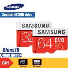цена на SAMSUNG EVO Plus Micro SD Memory Card 32GB 64GB 128GB 256GB SDHC/SDXC U3 C10 UHS-I 4K HD TF Card for Smartphone, Tablet,etc