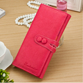 Women Long Wallet Multi-functional candy cute Female Wallet 5 Colors Handbag Clutch Card Holder High Quality Free