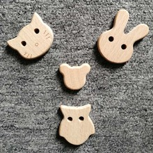 Clip-Chains Wooden Dummy Beads Natural-Wood Baby 1pc for Teeth-Beech DIY Jewelry-Making